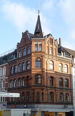 Bäckerstraße in Minden