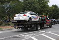 MPDC Chevy cruiser is towed.JPG
