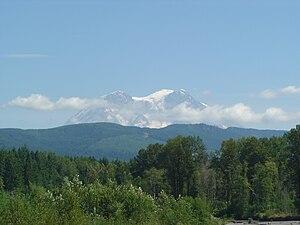 Mount Rainier Scenic Railroad - Image: MRSR.Mt.Rainier