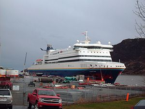 Marine Atlantic - Image: MV Atlantic Vision in St John's Harbour 2008 12 08