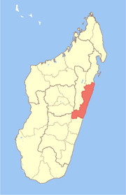 Location in Madagascar