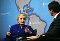 Madeleine Albright with Robin Niblett (8663275224).jpg