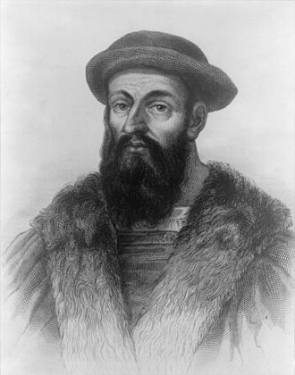 Timeline of the history of the Falkland Islands - Ferdinand Magellan. It is often claimed by Spanish speakers that one of the ships involved in his first global circumnavigation discovered the Falkland Islands