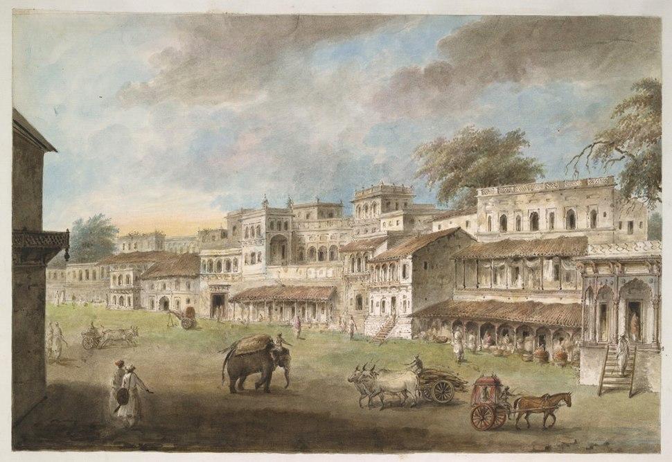 Main street of Patna, 1814-15