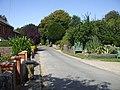 Main street through Litlington and entrance to the Tea Gardens - geograph.org.uk - 1452453.jpg