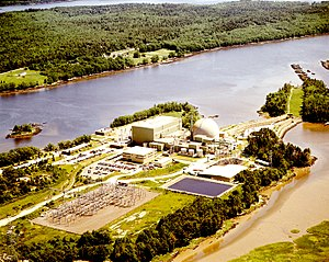 Maine Yankee Nuclear Power Plant - Image: Maine Yankee Nuclear Power Plant