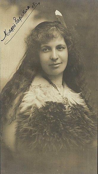 Makereti Papakura - Papakura in 1908