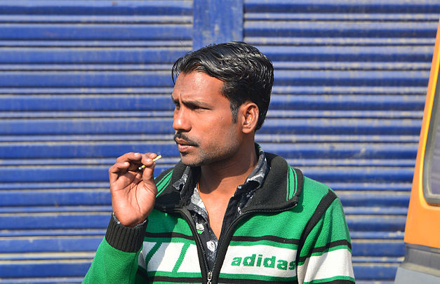 Man smoking, Udaipur.jpg