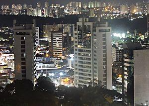 Manaus Skyline Noturno