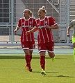 Mandy Islacker und Dominika Škorvánková BL FCB gg. 1. FC Koeln Muenchen-1.jpg