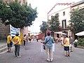 Manifestació per la llibertat dels presos polítics a Mont-roig del Camp 26-6-2020 03.jpg