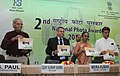 Manish Tewari releasing a brochure at the 2nd National Photo Awards 2011-12 function, in New Delhi. The Speaker, Lok Sabha, Smt. Meira Kumar, the Secretary, Ministry of Information & Broadcasting.jpg