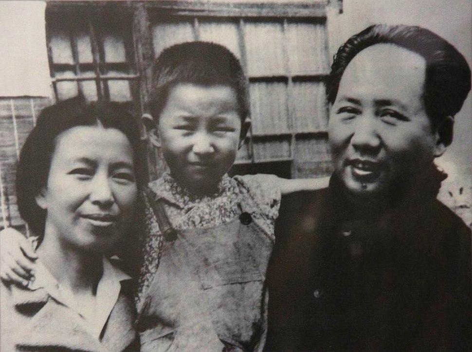 Mao Jiang Qing and daughter Li Na