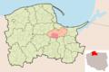 Map - PL - powiat gdanski - Trabki Wielkie.PNG