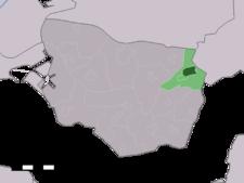 's-Gravenpolder所在地圖 ê uī-tì
