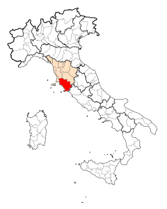 Map Province of Grosseto.svg