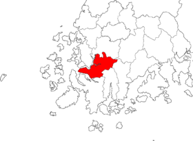Location of Yeongam