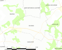 Map commune FR insee code 33516.png