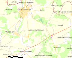 Map commune FR insee code 37010.png