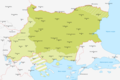 Map of Bulgaria during WWII-BG.png