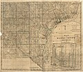 Map of Wayne County, Michigan - exhibiting the names of the original purchases and the number of acres in each tract exception regular subdivisions of perfect sections which contain 40, 80, 130, 180, LOC 2012593158.jpg