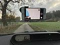 Mapillarisation sur la C55 à Mollon.JPG