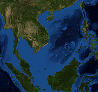South China Sea A marginal sea of the Pacific Ocean from the Karimata and Malacca Straits to the Strait of Taiwan