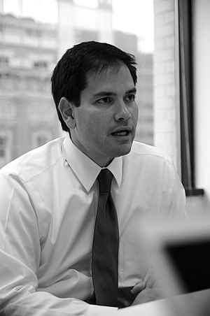 Photo of Marco Rubio taken on April 14, 2008 i...