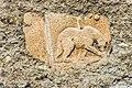Maria Saal Domplatz 6 Kanonikerstöckl S-Wand Relief mit Bärendarstellung 19092016 4326.jpg