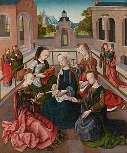 lijst van schilders