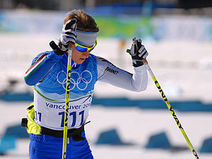 English: Marianna Longa at the Vancouver 2010 ...