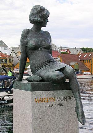 Marilyn Monroe sculpture, Haugesund