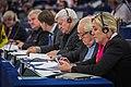 Marine Le Pen Jean-Marie Le Pen Bruno Gollnisch Parlement européen Strasbourg 10 décembre 2013.jpg