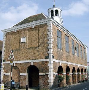 Amersham - The 1682 Market Hall in Old Amersham