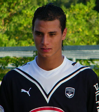 Marouane Chamakh - Chamakh with Bordeaux.