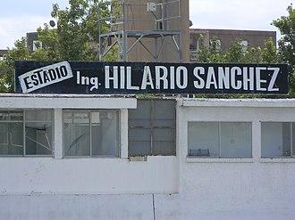 Estadio Ingeniero Hilario Sánchez - Image: Marquesina de Platea