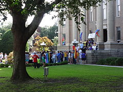 Marriage Equality Celebration, Lowndes County Courthouse 17.JPG