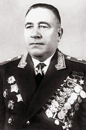 Mikhail Katukov - Image: Marshal of Tank Troops Mikhail Katukov