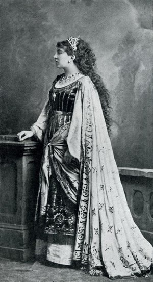Marthe Duvivier - Portrait of Duvivier as Salomé in Hérodiade