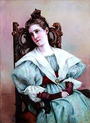 James Hampton Kirkland - Mary Henderson Kirkland; by Adelia Armstrong Lutz