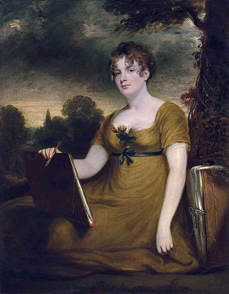 James Arundell, 10th Baron Arundell of Wardour - Mary Anne Nugent-Temple-Grenville, Lady Arundell of Wardour (1787-1845) (John Hoppner)