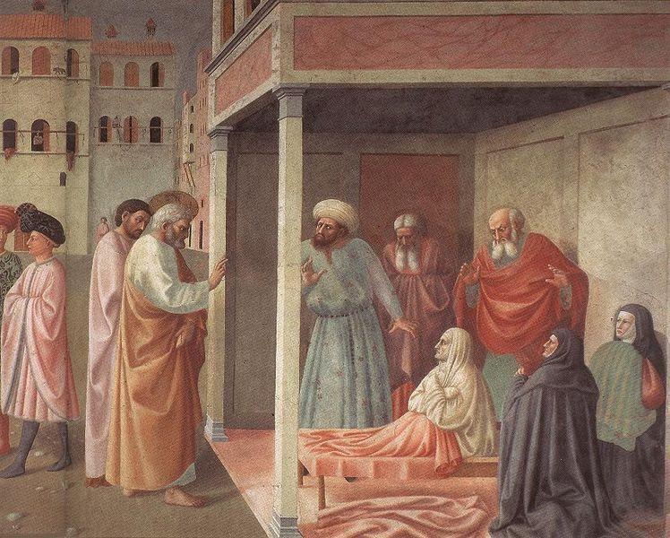 File:Masolino, resurrezione di tabita.jpg