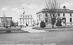 Masonic Temple (left), Court House, and Post Office seen from Ferry Street SE, Salem, Oregon, circa 1904 (AL+CA 1652).jpg