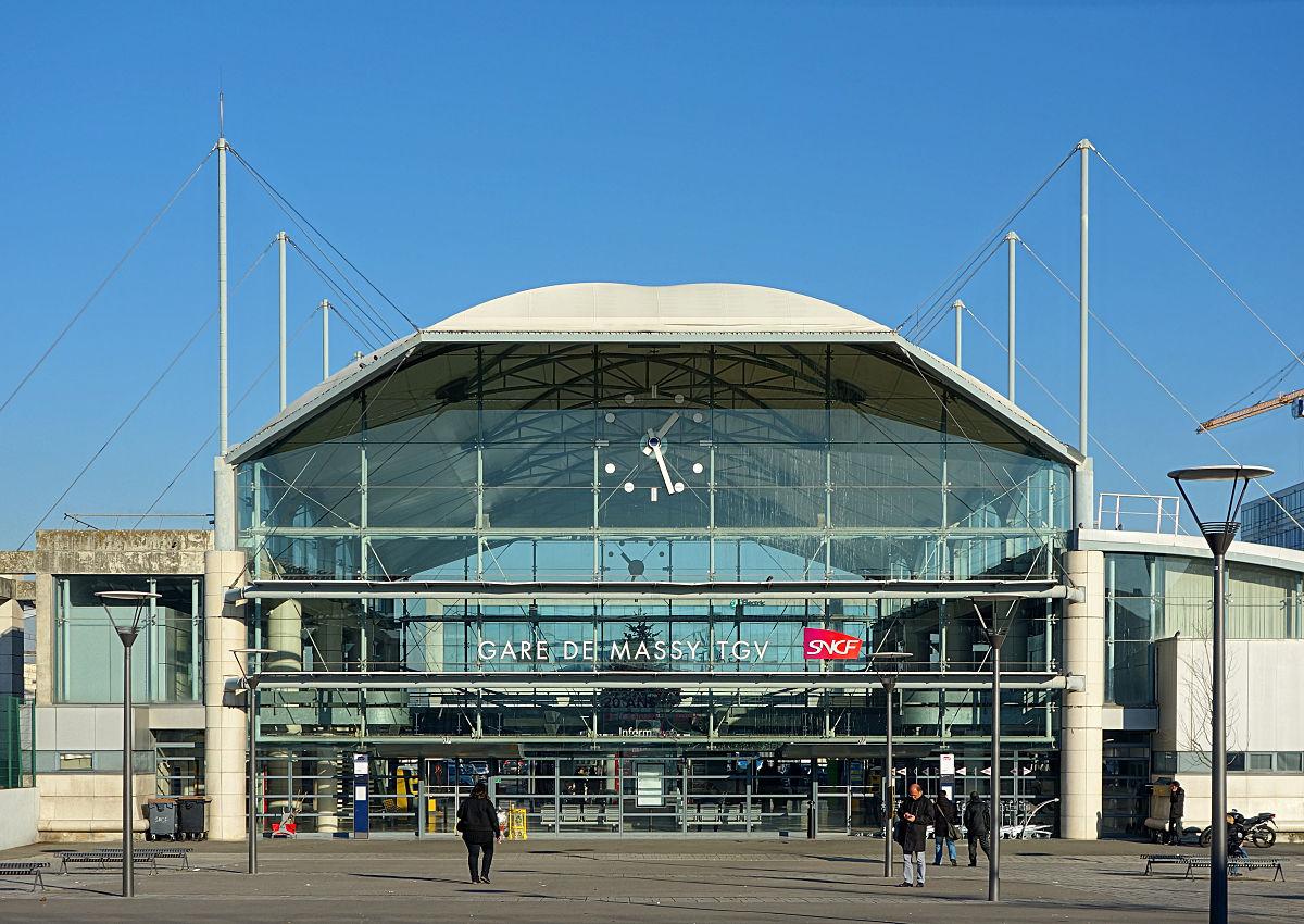 Gare de massy tgv wikip dia for Gare routiere salon de provence