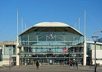 Gare de Massy TGV - Station entrance