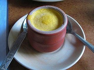 Kulfi Indian frozen dessert