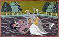 Matsya, the fish incarnation of Vishnu (6125128906).jpg