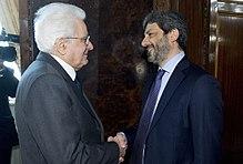 Fico con il presidente della Repubblica Sergio Mattarella