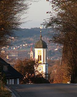 Mauerstetten - Kirchturm v O, Kaufbeuren.JPG