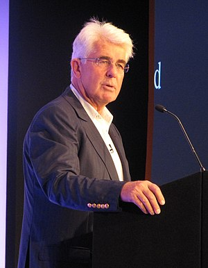 Max Clifford - Clifford at the Institute of Fundraising National Convention in 2011